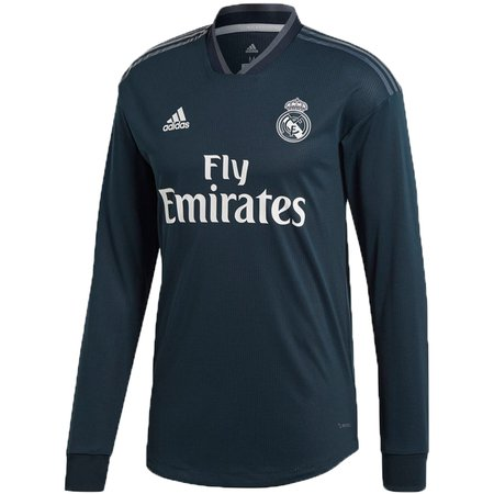 79d87cc696295 adidas Real Madrid 2018-19 Away Authentic LS Jersey