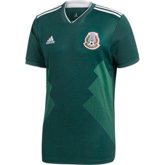adidas Mexico 2018 World Cup Home Replica Jersey
