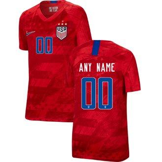 Nike United States 2019 4-Star Away Youth Custom Stadium Jersey