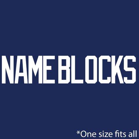 USA 2020 Womens Player Name Block