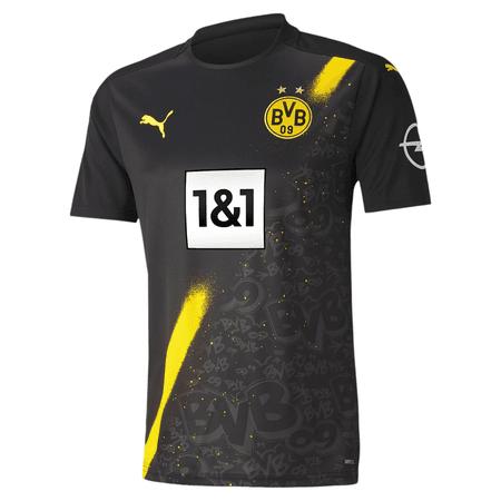 Puma BVB Dortmund 2020-21 Men's Away Stadium Jersey