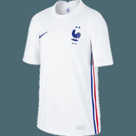 Nike Francia Playera Visitante 2020 para Niños