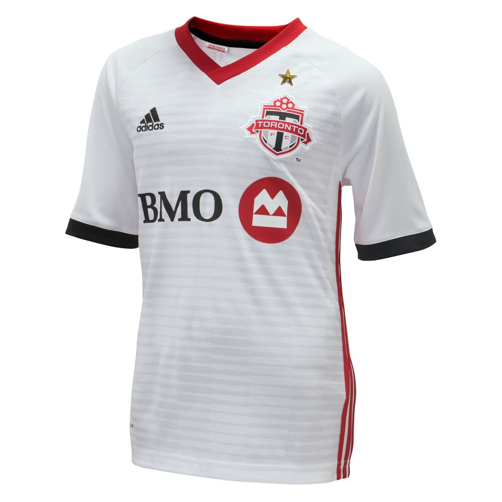 20dc9ded9f0 adidas Toronto FC Away 2018-19 Youth Secondary Jersey