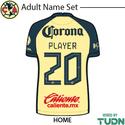 Club America 21-22 Youth Nameset