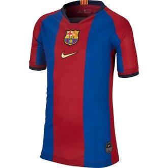 Nike Barcelona Youth El Clasico Home Stadium Jersey 2019