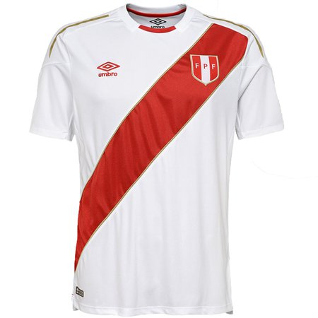 Umbro Peru Jersey de Local para la Copa Mundial 2018