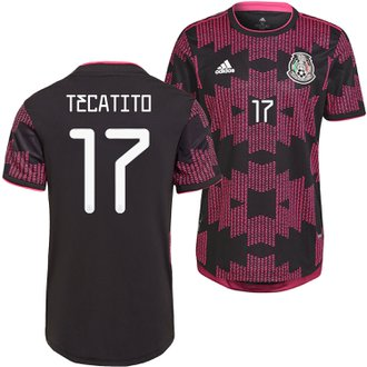 adidas Tecatito Mexico 2021 Authentic Home Jersey