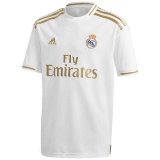 adidas Real Madrid Jersey Replica de Local para Niños 19-20