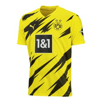 Puma BVB Dortmund 2020-2021 Youth Home Stadium Jersey