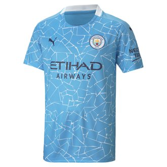 Puma Manchester City Home 2020-21 Youth Stadium Jersey