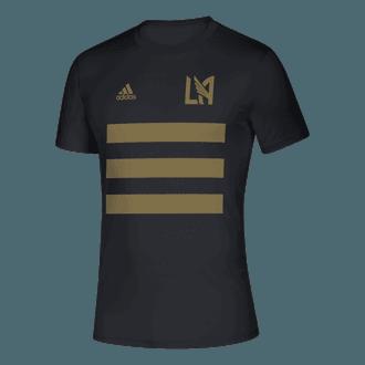 adidas 2021 LAFC 3 Stripe Tee