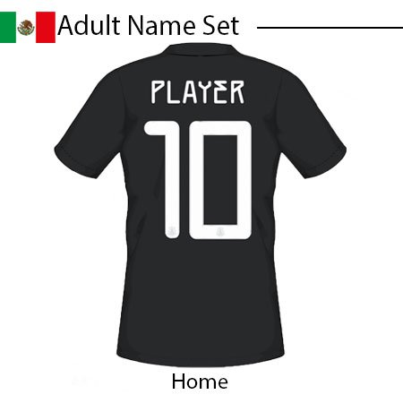 Mexico 2020 Adult Name Set
