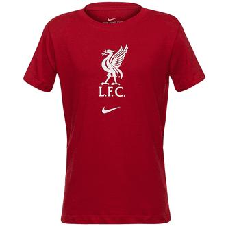 Nike Liverpool FC 2020-21 Camiseta con escudo para Niños