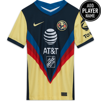 Nike Youth Club America 2020-21 Home Stadium Jersey