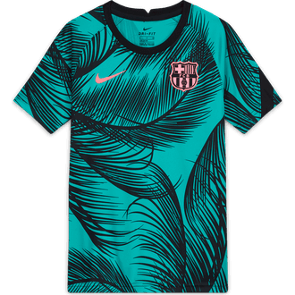 Nike Barcelona Dry Squad 2020-21 Youth Pre-Match Top