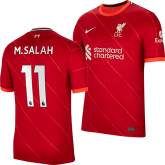 Nike Liverpool Salah Home 2021-22 Replica Jersey