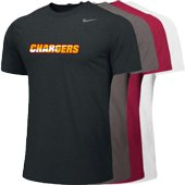 Chargers SS Poly Top