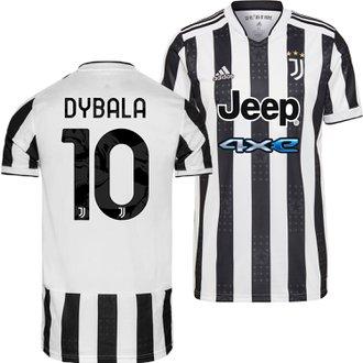 adidas Juventus Dybala Home 2021-22 Replica Jersey