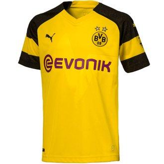 Puma BVB Dortmund Home 2018-19 Home Youth Jersey