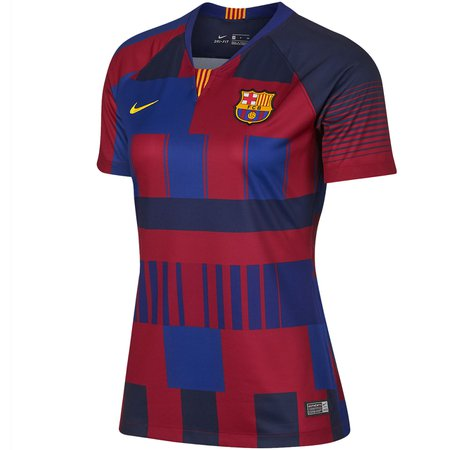 Nike FC Barcelona Home 20th Anniversary Women's Stadium Jersey