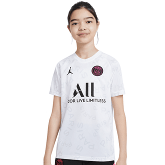Nike 2020-21 PSG Jordan Youth Pre-Match Top