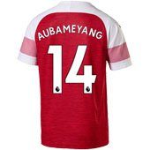 Puma Arsenal Aubameyang Home 2018-19 Replica Jersey