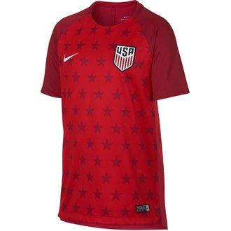 Nike United States Youth Dry Short Sleeve Squad Top