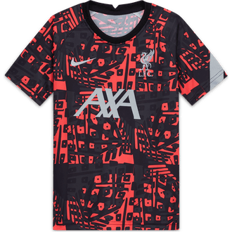 Nike Liverpool FC 2020-21 Youth Short Sleeve Pre-Match Top
