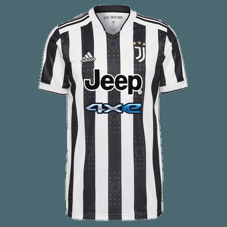 adidas 21-22 Juventus Home Rep Jrsy