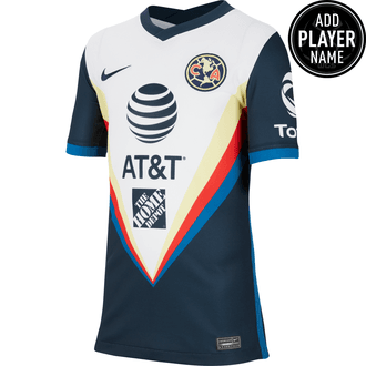 Nike Youth Club America 2020-21 Away Stadium Jersey