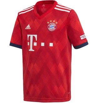 adidas Bayern Munich Youth Home 2018-19 Replica Jersey