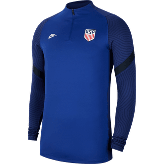 Nike USA Soccer Dry Strike Drill Quarter-Zip Top