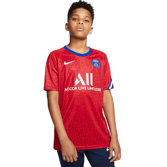 Nike PSG Dry Squad 2020-21 Youth Pre-Match Top
