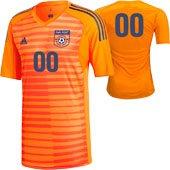 Far Post SS Orange GK Jersey