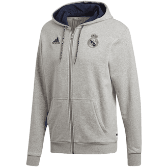 adidas Real Madrid Full Zip Hoodie