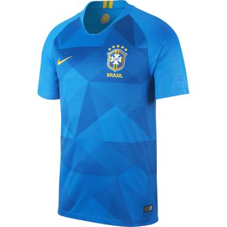 Nike Brazil 2018 World Cup Away Stadium Jersey