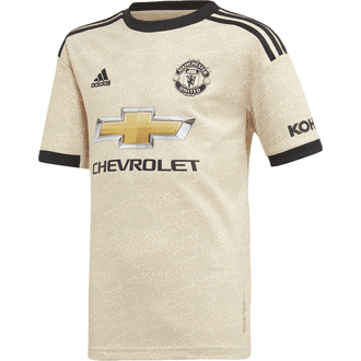 adidas Manchester United Away 2019-20 Youth Stadium Jersey