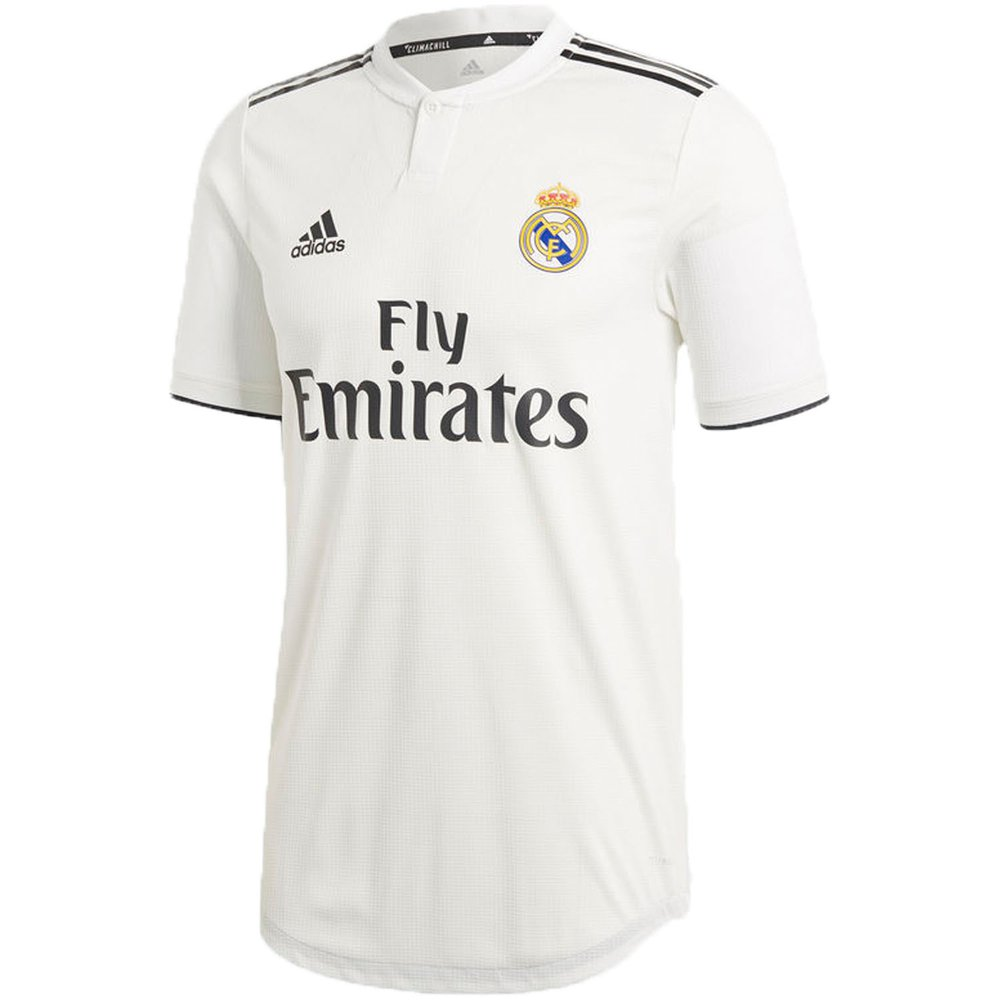 92efe7fea48 adidas Real Madrid 2018-19 Home Authentic Jersey