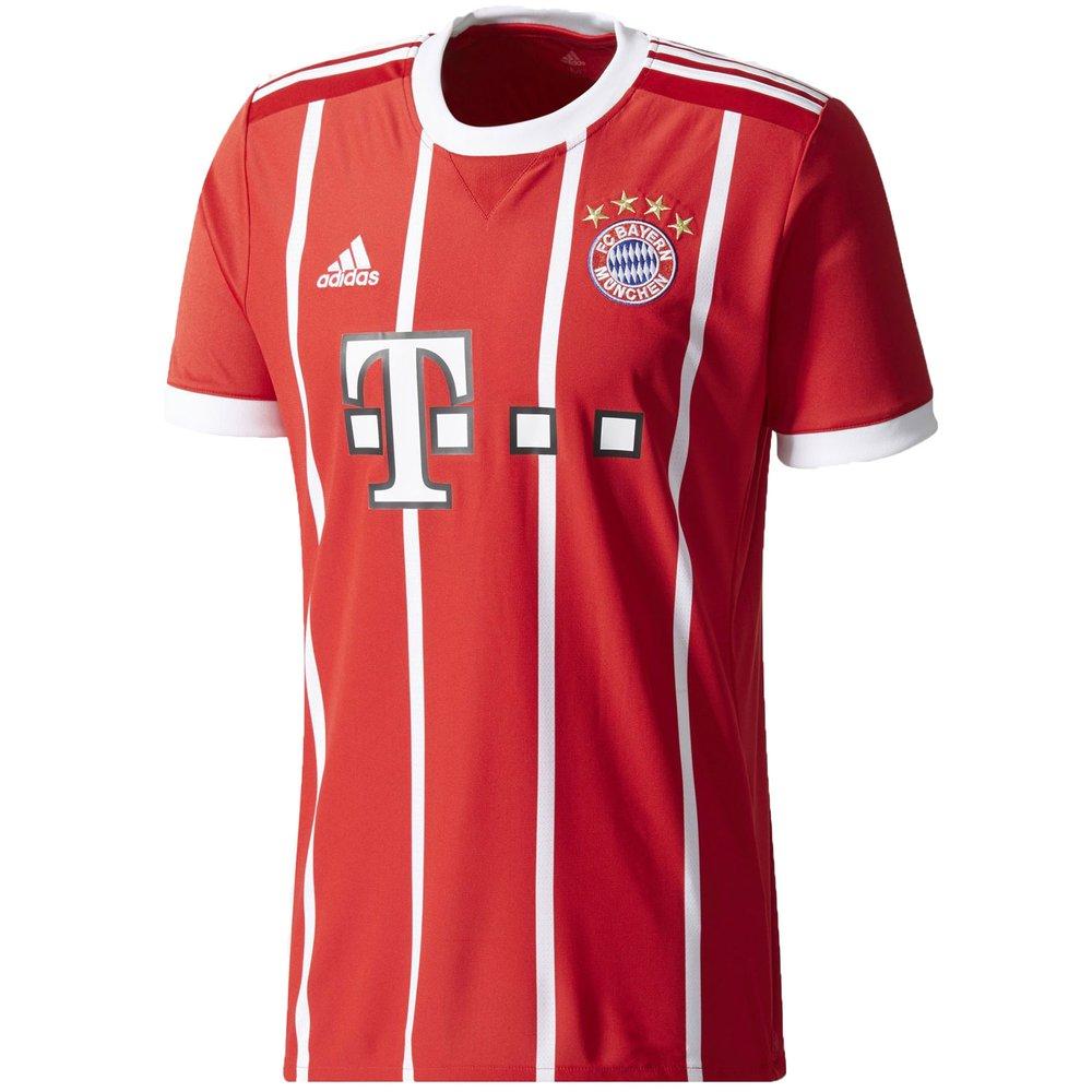 adidas Bayern Munich Home 2017 18 Jersey |