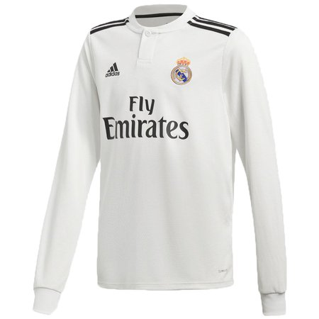 adidas Real Madrid Jersey Manga Larga 18-19