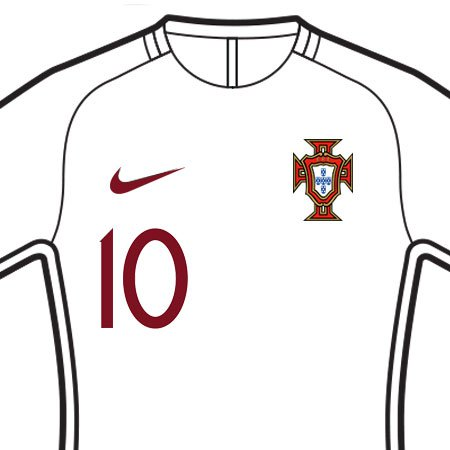 Portugal 2018 Front Number