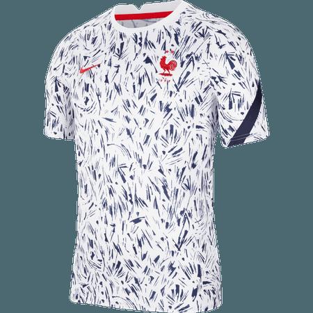 Nike Francia 2020 Camiseta de manga corta pre-partido