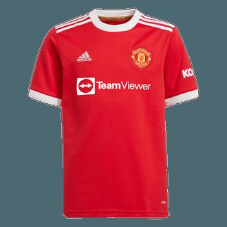 adidas Manchester United Jersey de Local 2021-22 para Niños