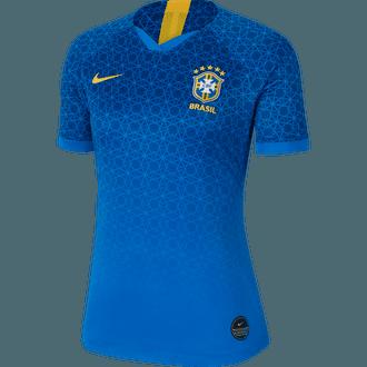 Nike Brazil Jersey de Visitante 2019 para Damas