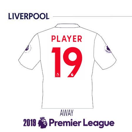 Liverpool 2019 Name Set