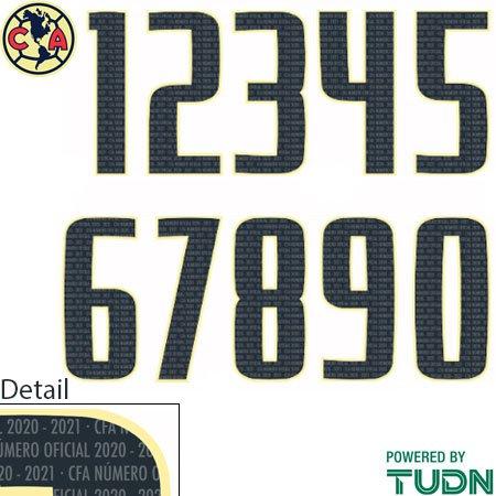 Club America 20-21 Adult Numbers