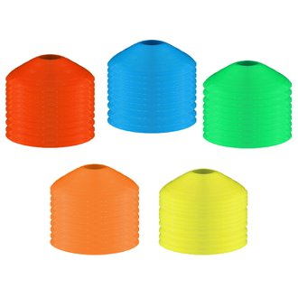 WGS Soccer Field Marker Package (50 Cones - Choose from 5 Colors)