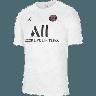 Nike 2020-21 PSG Jordan Camiseta pre-partido para Hombres