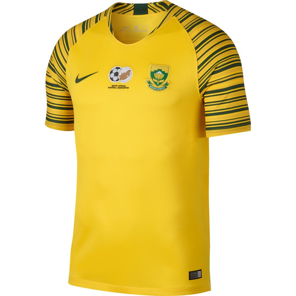 South Africa 2018/19 Nike Home Jersey – FOOTBALL FASHION.ORG  South Africa Soccer Jersey