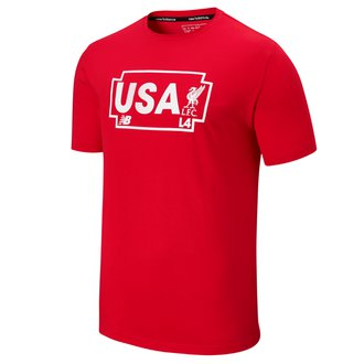 New Balance Liverpool USA Road Tee